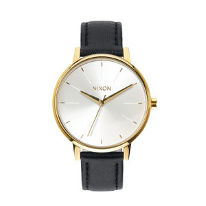 Nixon Kensington Leather Gold White / Black