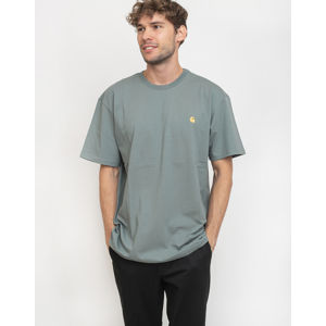 Carhartt WIP Chase T-Shirt Cloudy/Gold L