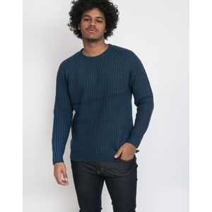 RVLT 6518 Heavy Knitted Sweater Blue M