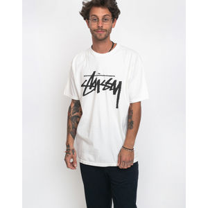 Stüssy Stock Pig. Dyed Tee Natural M