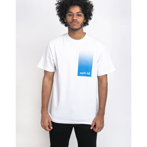 North Hill White Gradient Tee White L