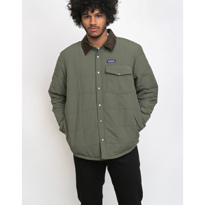 Patagonia Isthmus Quilted Shirt Jkt Industrial Green S