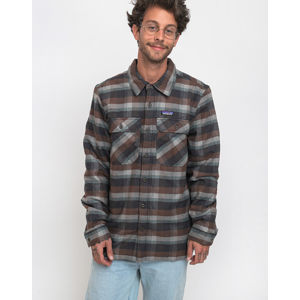 Patagonia Insulated Fjord Flannel Jkt Observer: Ink Black XL