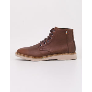Toms Porter Dark Brown Leather 44