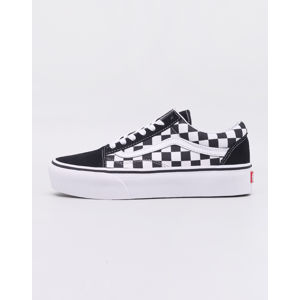 Vans Old Skool Platform (Checkerboard) Black/ True White 40,5