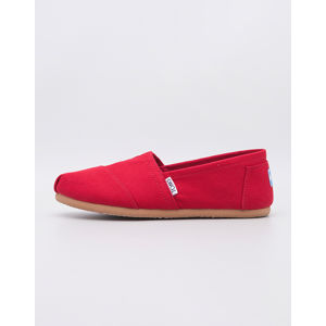 Toms Classic Red Canvas 36