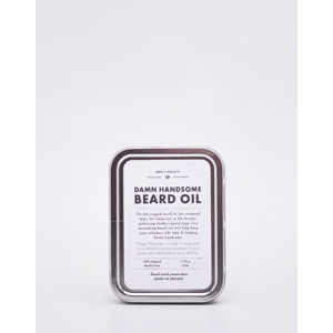 Men's Society Damn Handsome Beard Oil and Face Rag