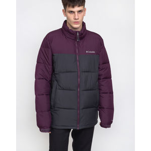 Columbia Pike Lake Jacket 016 Shark/Black Cherry S