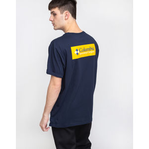Columbia North Cascades Short Sleeve Tee 464 Collegiate Navy, Stinger S