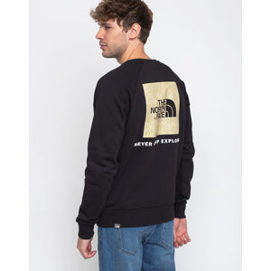 The North Face Raglan Redbox Crew TNF Black XL