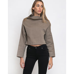 FL Crop Pullover Toffee Brown XS/S