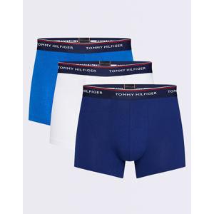 Tommy Hilfiger 3P Trunk 0WS Blue Depths/Lapis Blue/White XL
