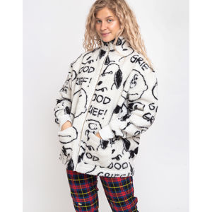 Lazy Oaf Lazy Oaf x Peanuts Good Grief Fleece White XS