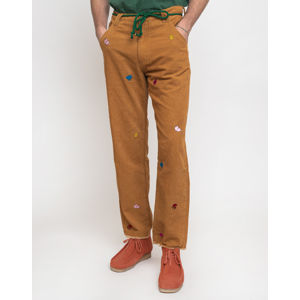 Lazy Oaf Mr Men Cord Pants Brown 32