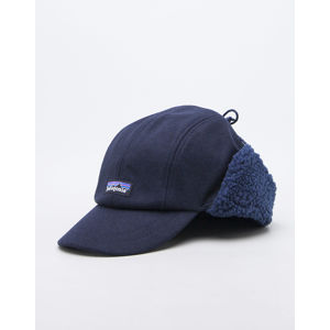 Patagonia Recycled Wool Ear Flap Clap Classic Navy L
