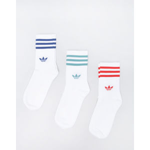 adidas Originals Mid Cut Crew Sock White/ White/ White 39-42