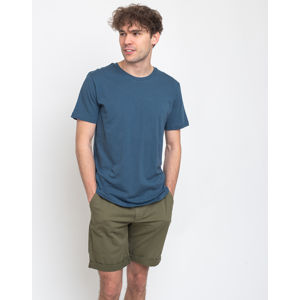 By Garment Makers The Organic Tee Petroleum Blue S