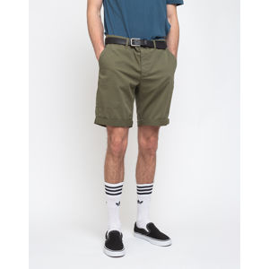 By Garment Makers The Organic Chino Shorts Oil Green XL