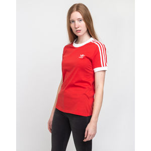 adidas Originals 3 Str Tee Lush Red/White 40