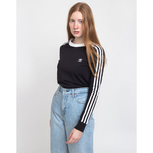 adidas Originals 3 Stripes Longsleeve Black/White 38