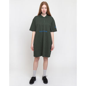 Han Kjøbenhavn Polo Dress Pinstripe Green XS