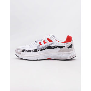 Nike P-6000 White/ Particle Grey - University Red 42,5