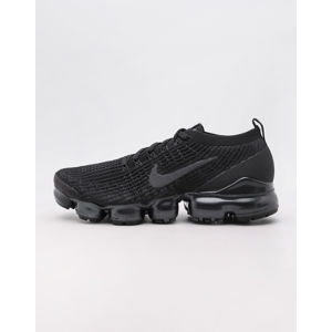 Nike Air VaporMax Flyknit 3 Black/ Anthracite - White - Metallic Silver 46