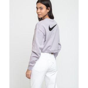 Nike Sportswear Swoosh Crew Ft Silver Lilac/Black S