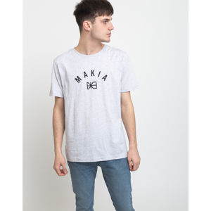 Makia Brand T-Shirt Light Grey M