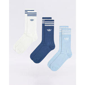 adidas Originals Solid Crew Sock NMARIN/CLESKY/WHITE 35-38
