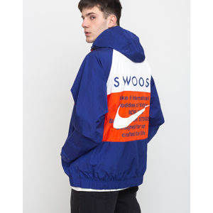 Nike Sportswear Swoosh Jacket Deep Royal Blue/Team Orange/White/White L
