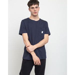 Makia Square Pocket T-Shirt Dark Blue XL