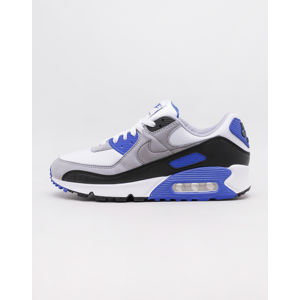 Nike Air Max 90 White/ Particle Grey - Hyper Royal - Black 46