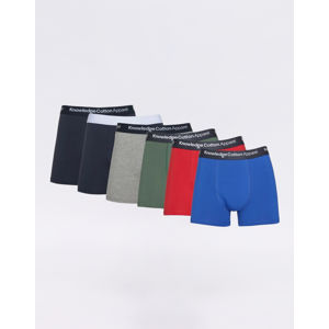 Knowledge Cotton Maple 6 Pack Underwear 1293 Scarlet M