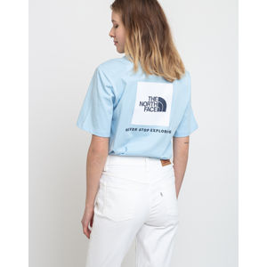 The North Face W Bf Redbox Tee Angel Falls Blue M