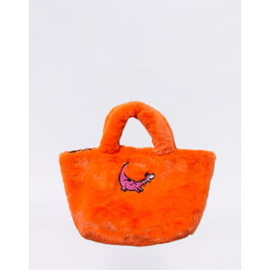 Lazy Oaf Flintstones Furry Dino Bag Orange