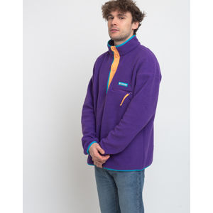 Columbia Helvetia Half Snap Fleece Vivid Purple L
