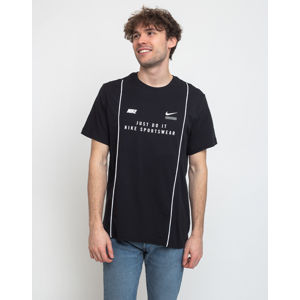 Nike Sportswear Dna Ss Tee Black/White L