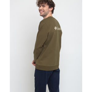 Columbia Columbia Lodge Dbl Knit Sweatshirt New Olive/Foss S