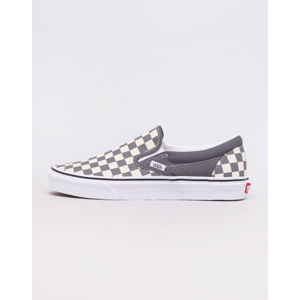 Vans Classic Slip-On (Checkerboard) Pewter/ True White 36