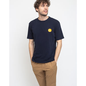 Loreak Dot Text Hvy Slub A-navy S