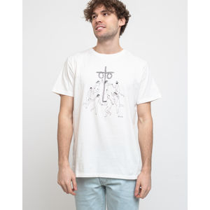 Dedicated T-shirt Stockholm Midsummer Off-White L