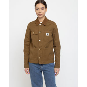 Carhartt WIP W' Michigan Jacket Hamilton Brown Rinsed XS