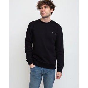 Carhartt WIP Script Embroidery Sweat Black/White L