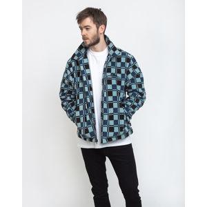 Stüssy Brent Polar Fleece Jacket Blue L
