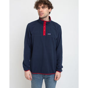 Patagonia M's Micro D Snap-T P/O New Navy w/Classic Red XL