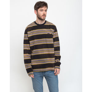 Stüssy Bleach Stripe Ls Crew Black S