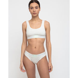 Calvin Klein Unlined Bralette Ows Snow Heather S