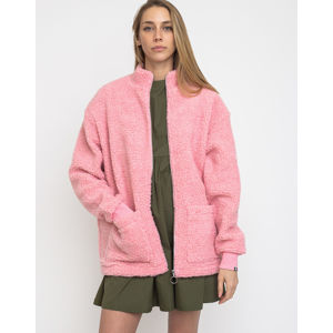 Lazy Oaf Zip Through Fleece Pink M
