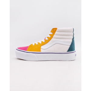 Vans Sk8-Hi Platform 2.0 (Mini Cord) Multi/ True White 37